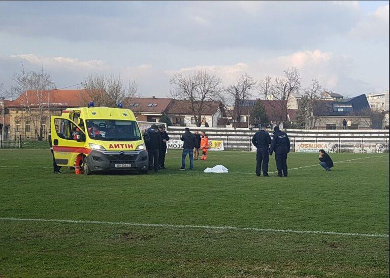 """Θρήνος στην Κροατία, παίκτης """"έσβησε"""" μέσα στο γήπεδο (video)"""