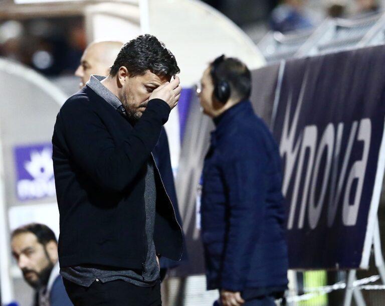 Γκαρσία: «Είχαμε επτά ''καθαρές'' ευκαιρίες, αλλά το γκολ δεν ήρθε»