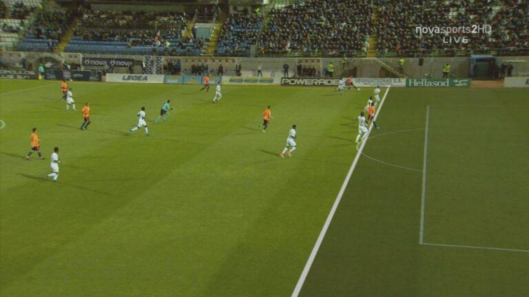 Οφσάιντ το 1-1 του Ολυμπιακού στη Λιβαδειά!