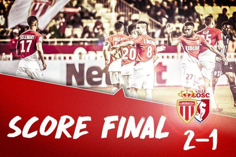 Νίκη-ανατροπή η Μονακό, 2-1 τη Λιλ