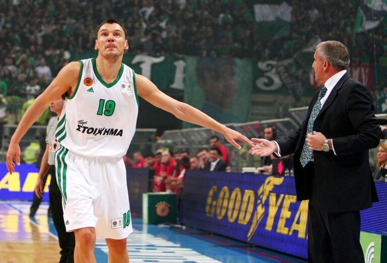 Γιασικεβίτσιους: «Βιβλίο του μπάσκετ ο Ομπράντοβιτς»
