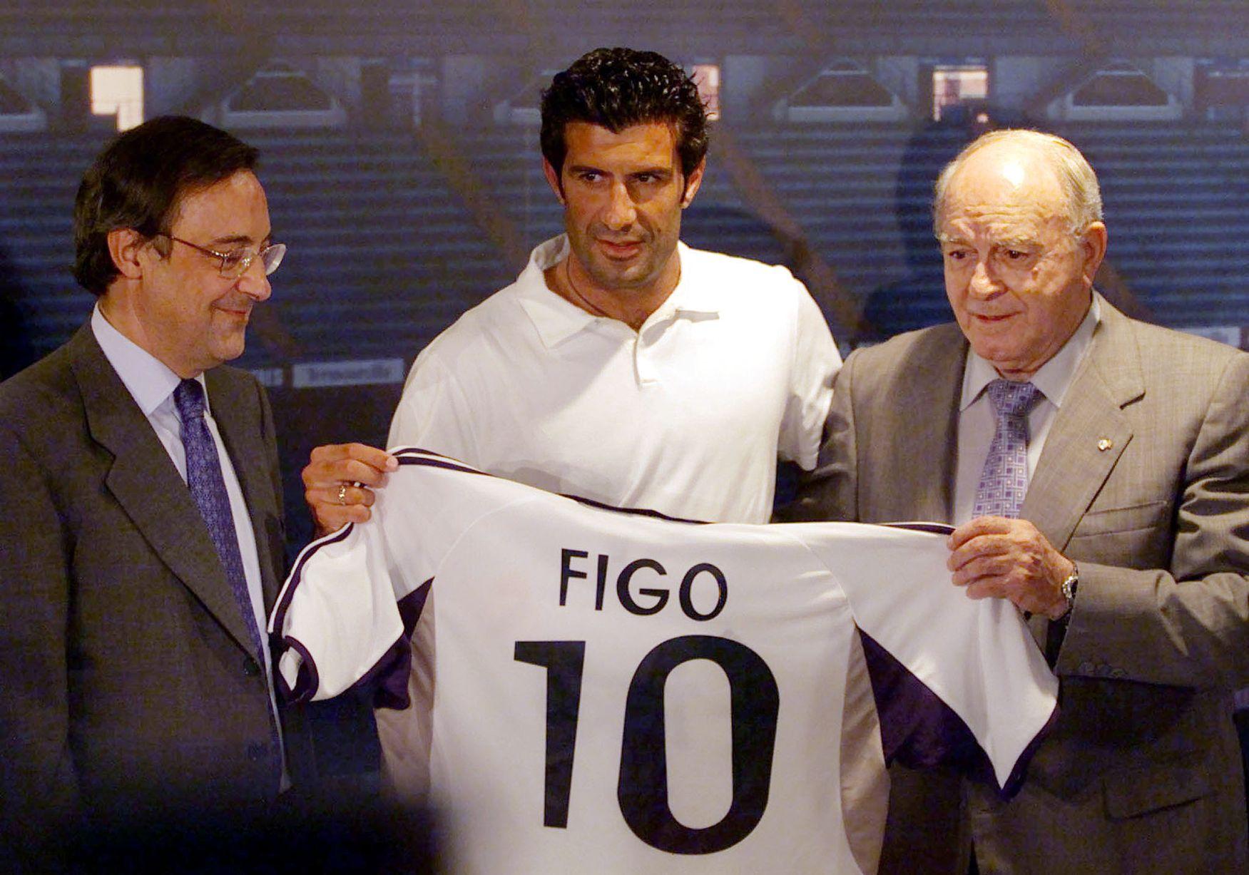 «Ο Φίγκο, σχεδόν, έβαλε τα κλάματα, όταν έμαθε ότι θα πάει στη Ρεάλ» - Sportime.GR
