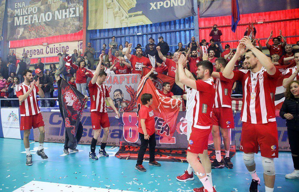 Volley League: Αποστολές εκτός έδρας για Ολυμπιακό, ΠΑΟΚ