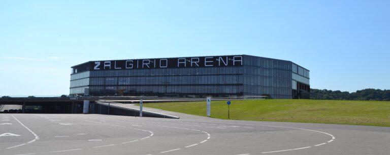 Η αλλαγη της «Zalgirio Arena» (vid)