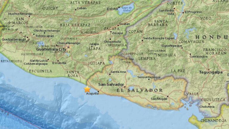 Μεγάλος σεισμός χτύπησε το Ελ Σαλβαδόρ