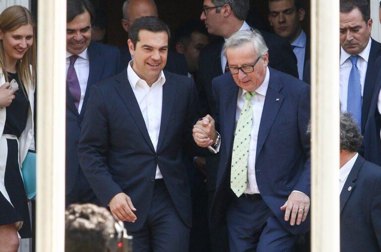 Γιούνκερ: «Στις 20 Αυγούστου η Ελλάδα γυρνάει σελίδα»