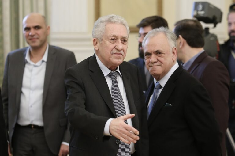 Φώτης Κουβέλης: «Ανοιχτό το θέμα των φρεγατών όταν έγιναν οι δηλώσεις»