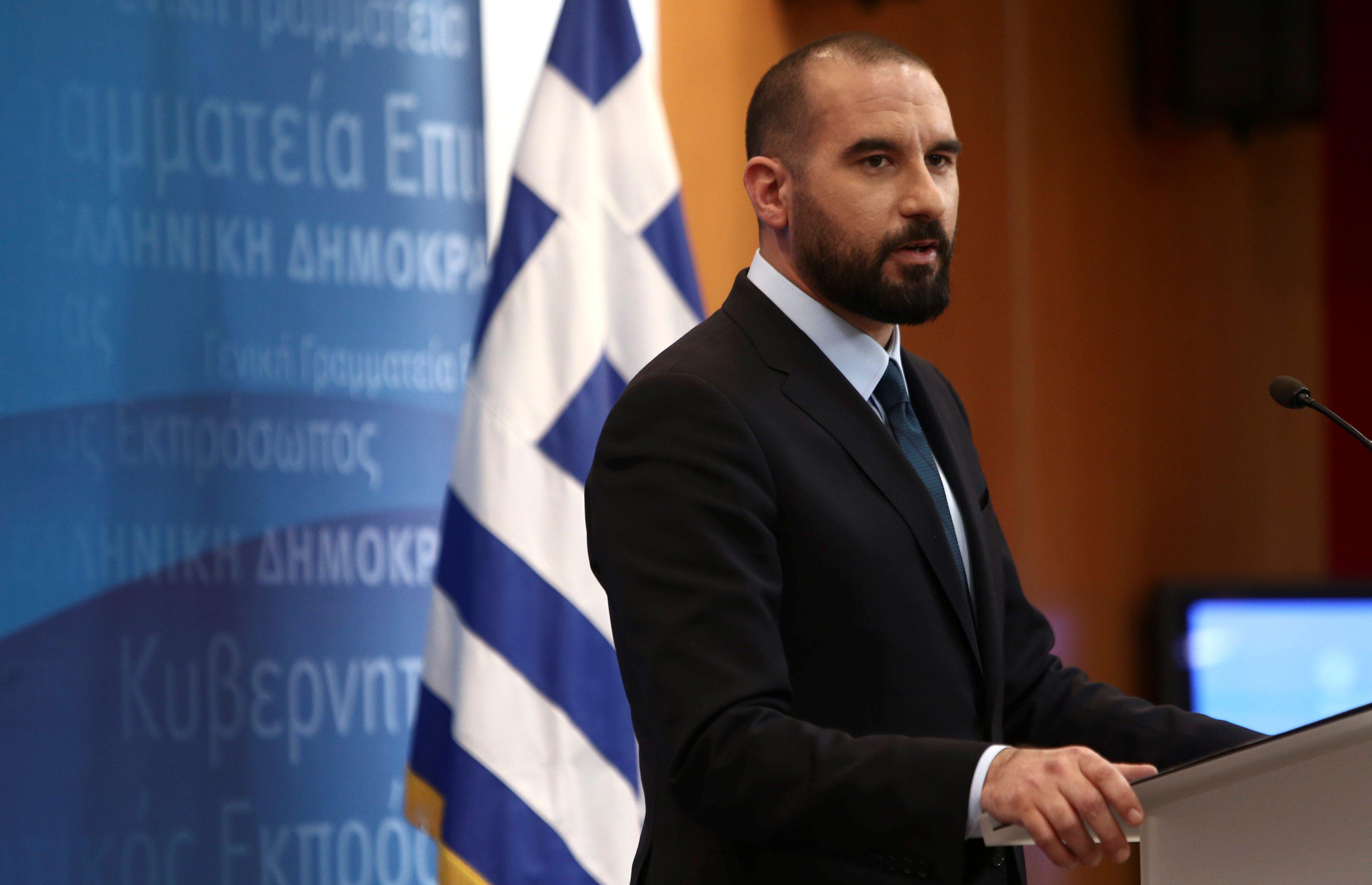 Τζανακόπουλος: «Δεν υπάρχει συμφωνία για το Σκοπιανό»