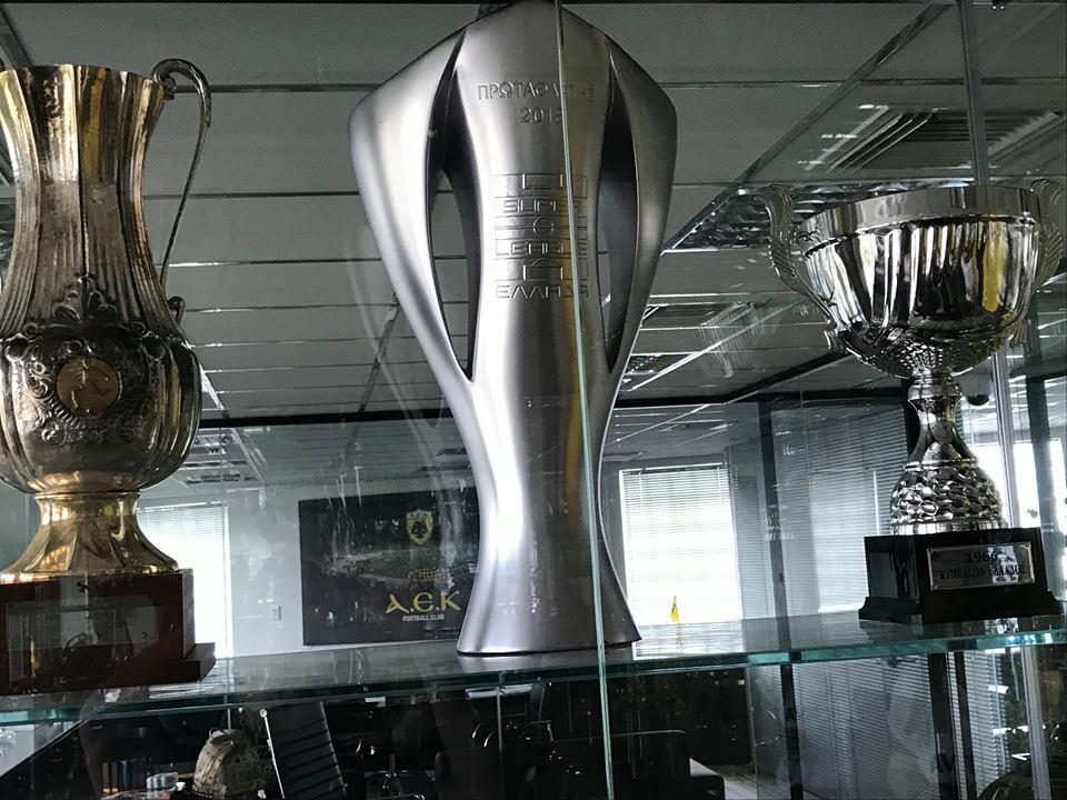 """Το φετινό πρωτάθλημα στην """"κιτρινόμαυρη"""" τροπαιοθήκη (pics) - Sportime.GR"""