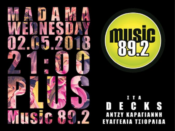 Madama Wednesday από τον Music 89.2