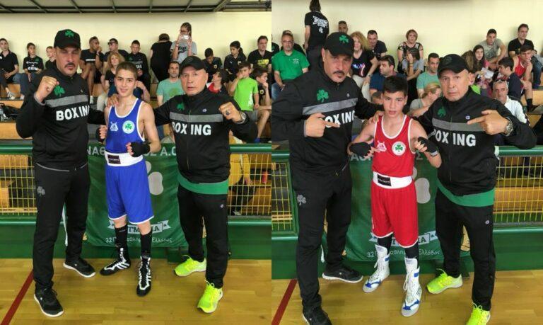 Πυγμαχία: Πρωταθλητές οι Ευμορφιάδης-Κωστούρος του Παναθηναϊκού!
