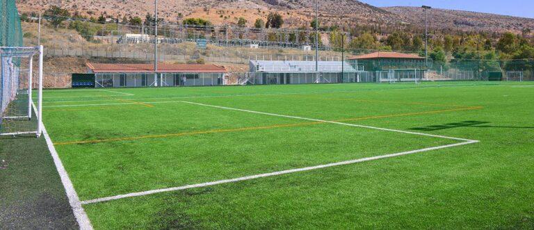 Ποδοσφαιρικό camp στην Ηλιούπολη