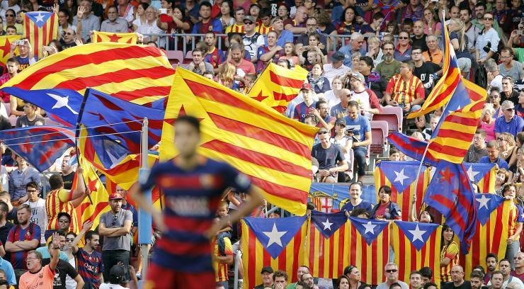 Καταλανικό «χρώμα» στο Καμπ Νου