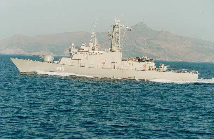 Ύποπτο επεισόδιο – Τουρκικό εμπορικό πλοίο «ακούμπησε» ελληνική κανονιοφόρο…