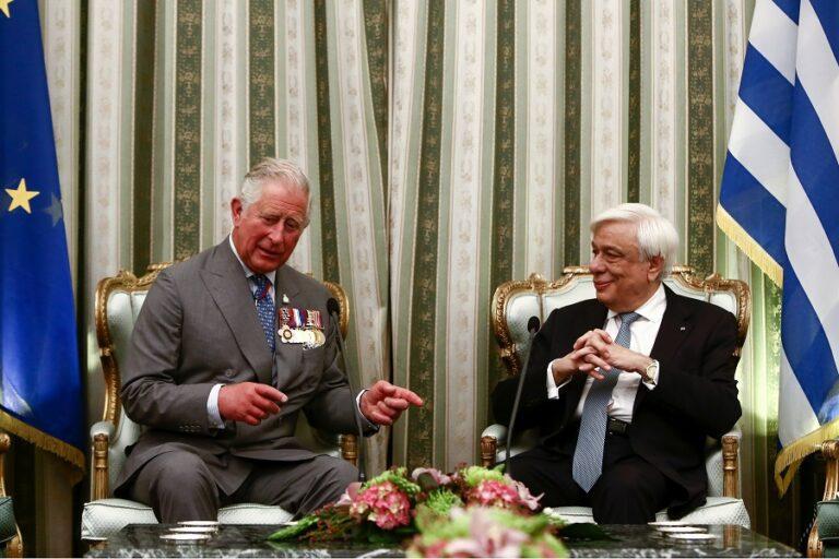 Οι πρώτες δηλώσεις του Πρίγκιπα της Ουαλίας στο Προεδρικο Μέγαρο
