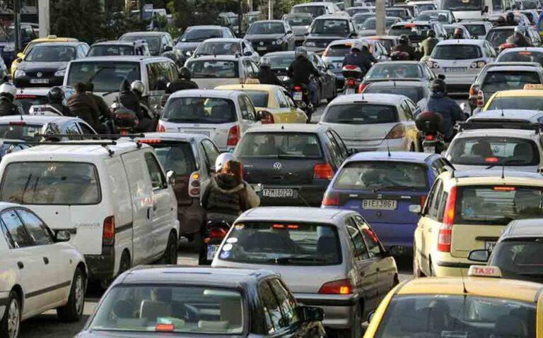 Καθυστερήσεις στην Αττική οδό λόγω των μέτρων για τη μετακίνηση του Σταϊνμάιερ