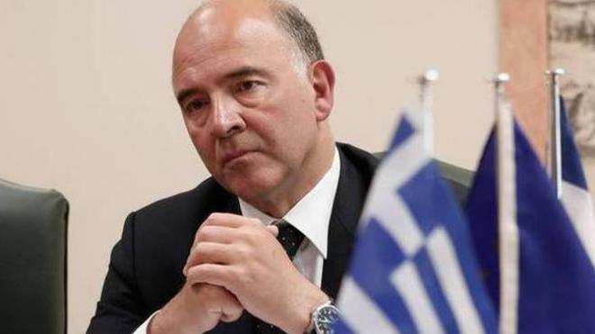 Πιερ Μοσκοβισί: «Σε σωστή τροχιά» η Ελλάδα