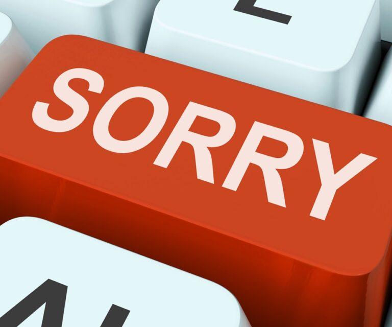 Ζήτησε συγγνώμη (έστω) με τον τρόπο του