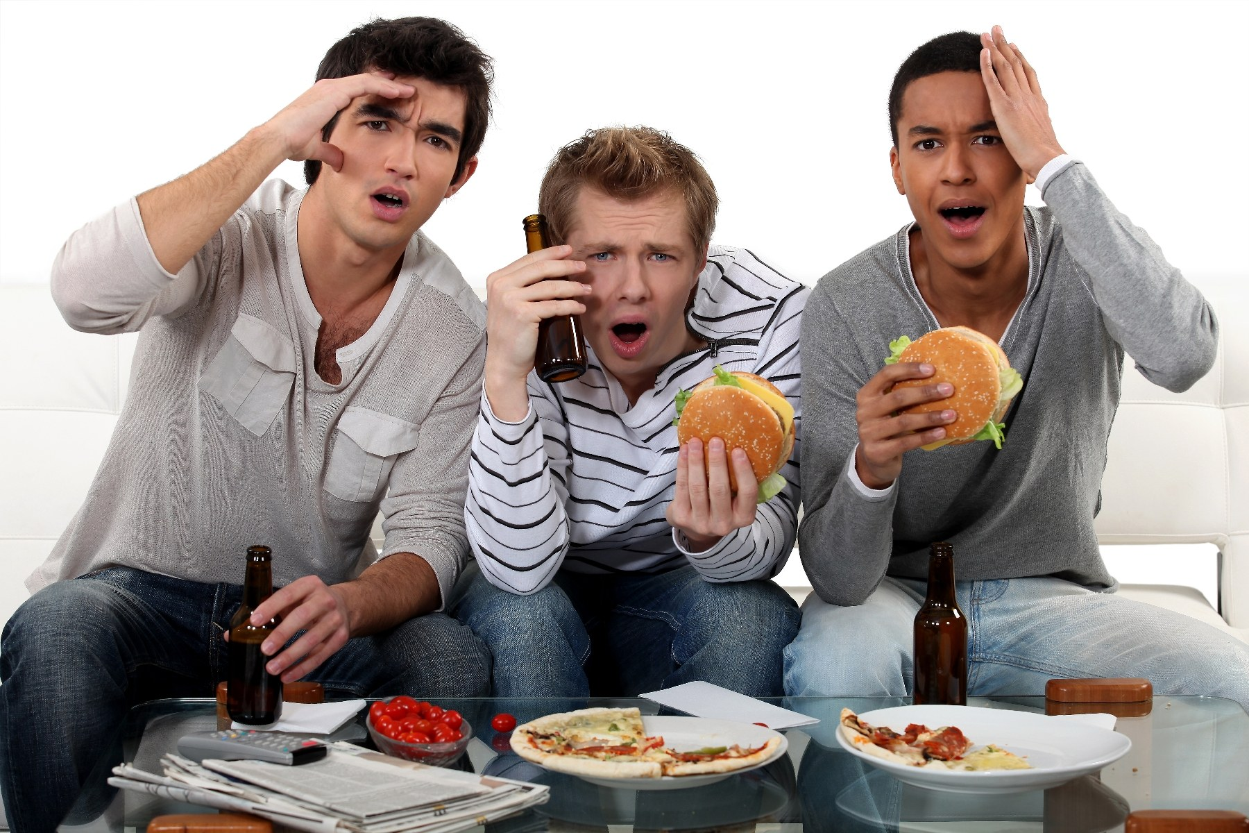 Τι τρώνε οι Ευρωπαίοι στο ημίχρονο