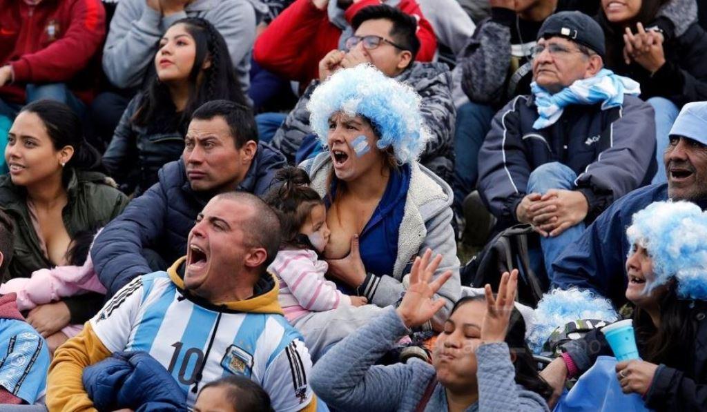 Απίστευτη εικόνα με μητέρα στην Αργεντινή!