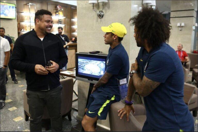 Επίσκεψη Ρονάλντο στο ξενοδοχείο της Βραζιλίας