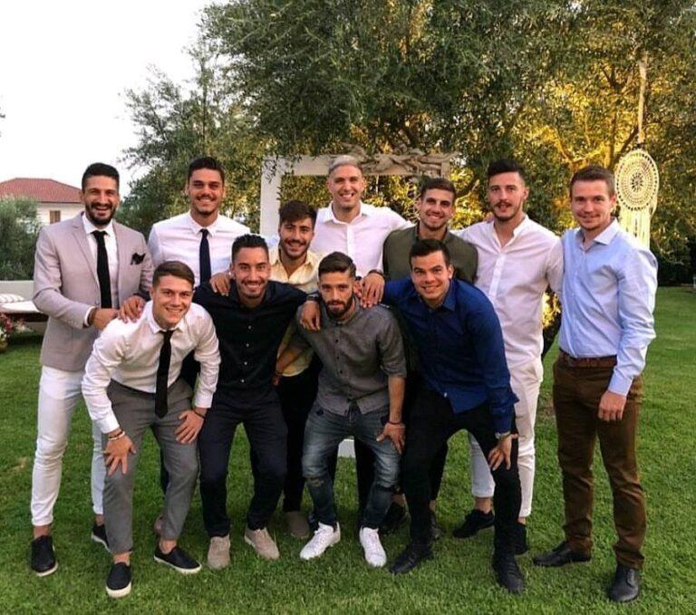 «Dream Team» στο γάμο του Μπέριου