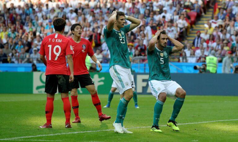 Η Γερμανία έπεσε στην 15η θέση της FIFA!