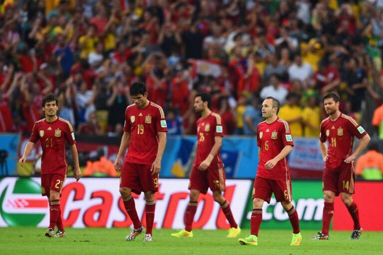 Οι ενδεκάδες του Ισπανία – Ρωσία