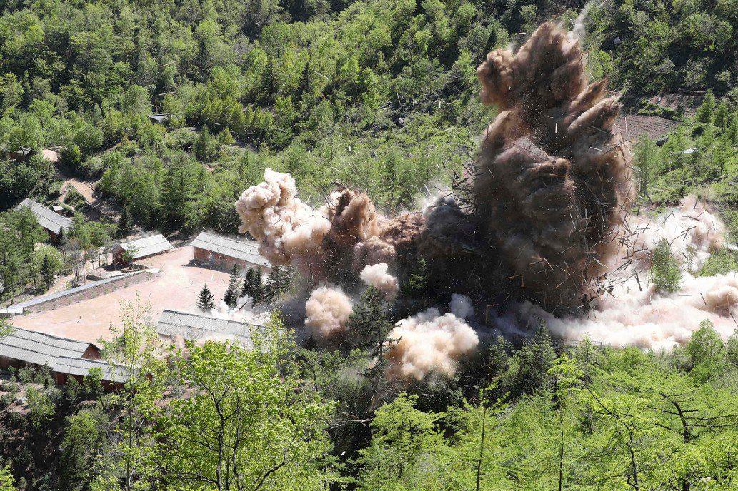 Οι ΗΠΑ αμφισβητούν την καταστροφή χώρων πυρηνικών δοκιμών