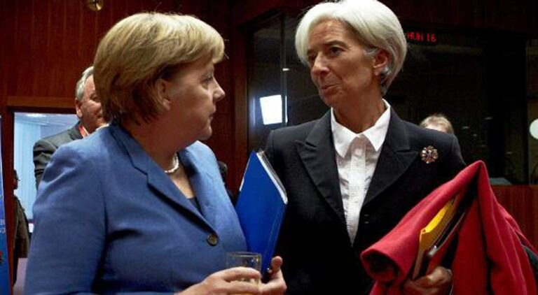 Συνάντηση Μέρκελ-Λαγκάρντ με την ελληνική οικονομία στο «μενού»