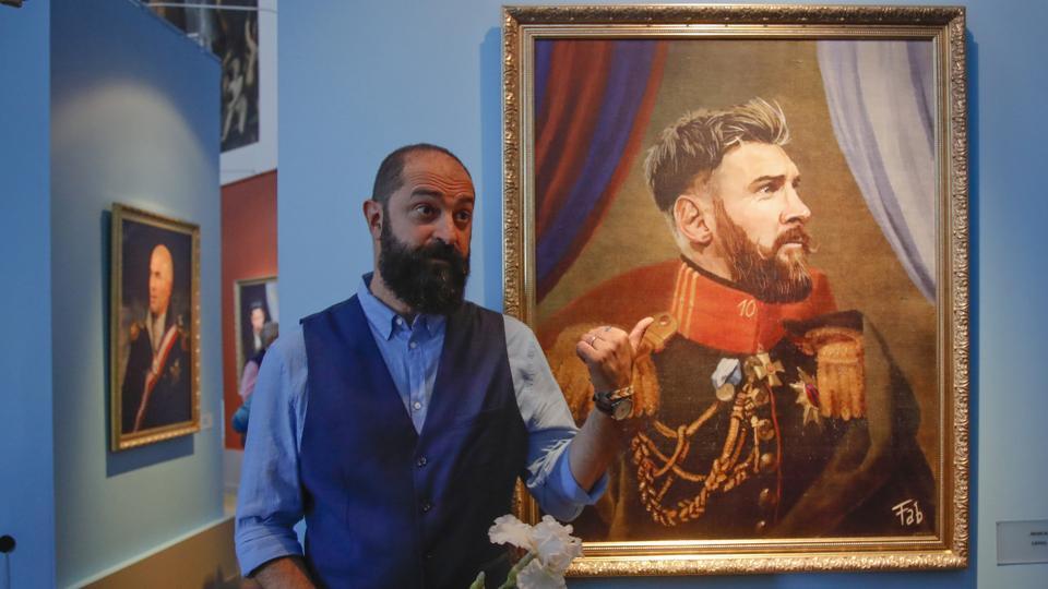 Οι μεγαλύτεροι σταρ του Μουντιάλ σε έργα ποδοσφαιρικής τέχνης