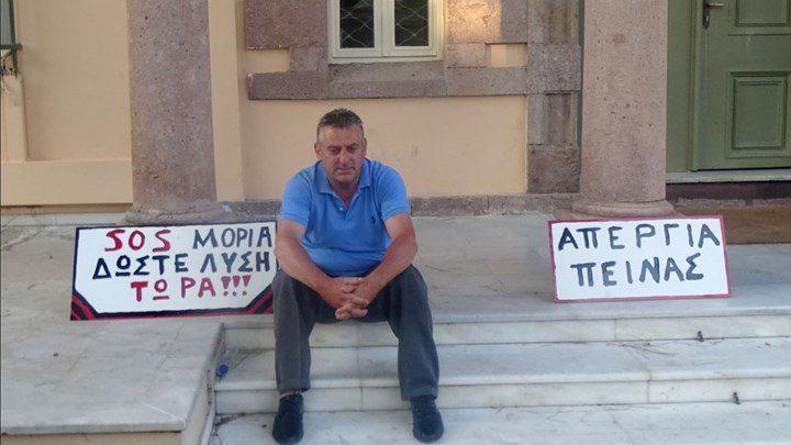 Απεργία πείνας από τον πρόεδρο της Μόριας μετά την πυρκαγιά…