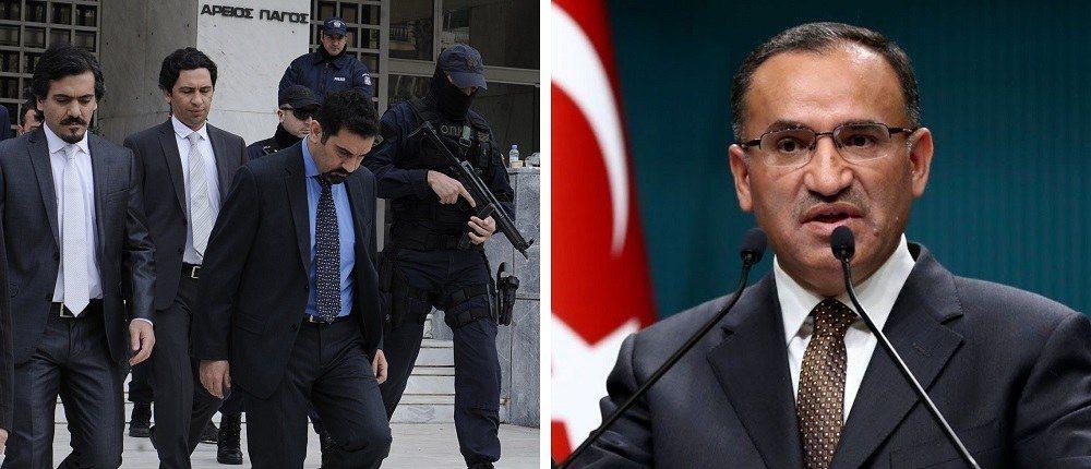 """Νέες τουρκικές… ψευτομαγκιές: «Θα βρούμε τους """"8"""" και θα τους πακετάρουμε»"""