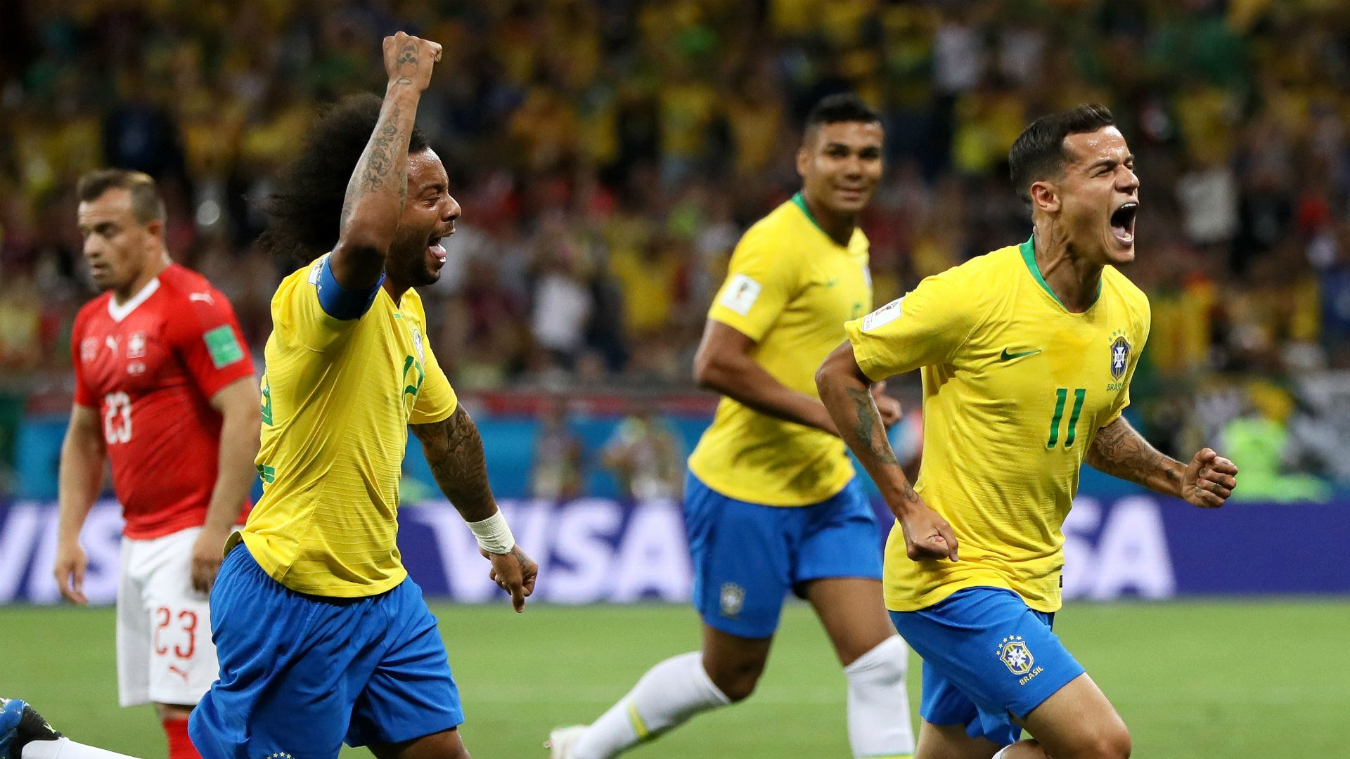 Χοσέ: Πρόκριση για τη Βραζιλία