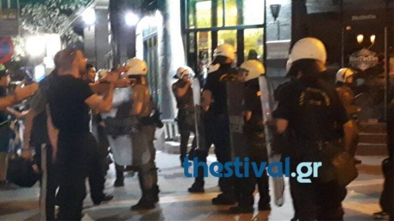 Ένταση για τη Μακεδονία στη Θεσσαλονίκη (vid)