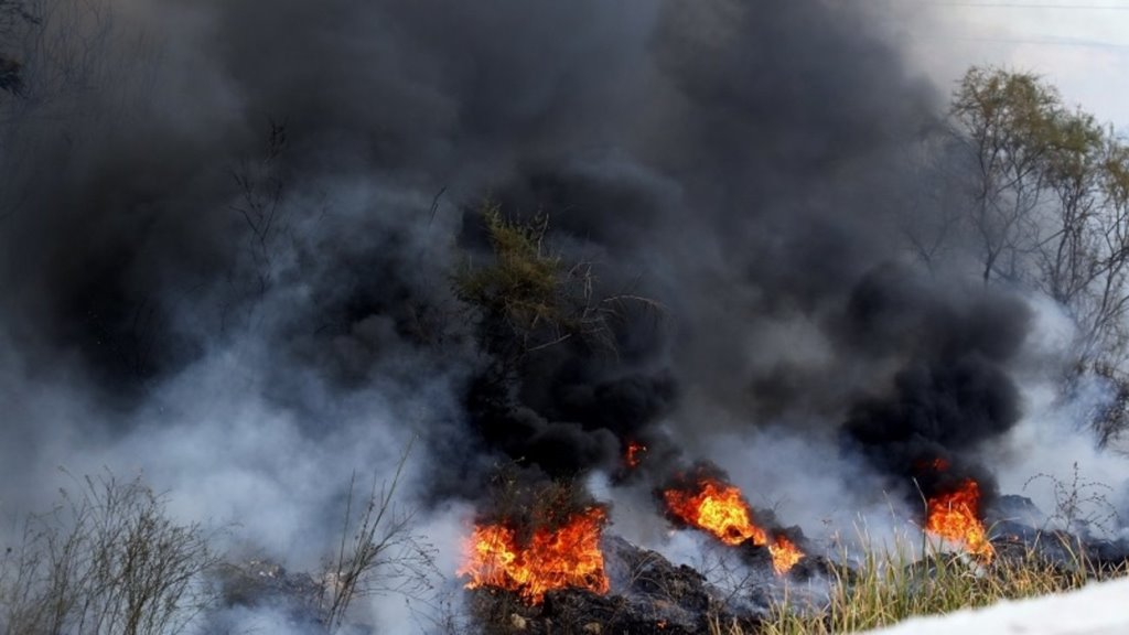 Φωτιά και σε Λάρυμνα και Αταλάντη