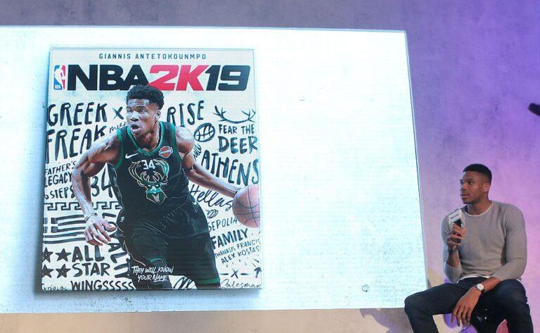 Θέλει καλύτερο rating στο NBA2K19 ο Γιάννης (pic)