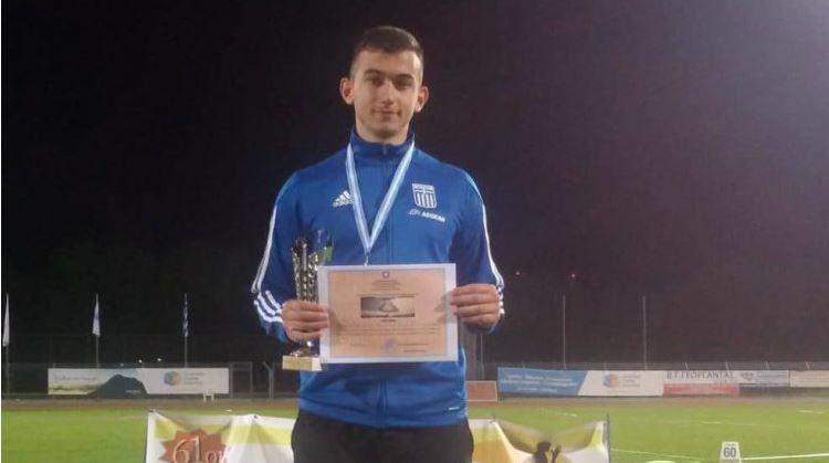 Μετάλλιο με ρεκόρ ο Καλογεράκης