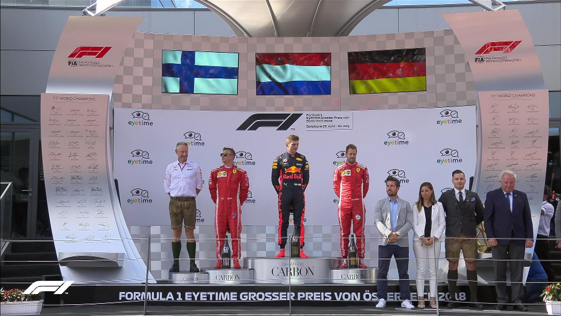 Νικητής Φερστάπεν στην Αυστρία, εκτός οι Mercedes!
