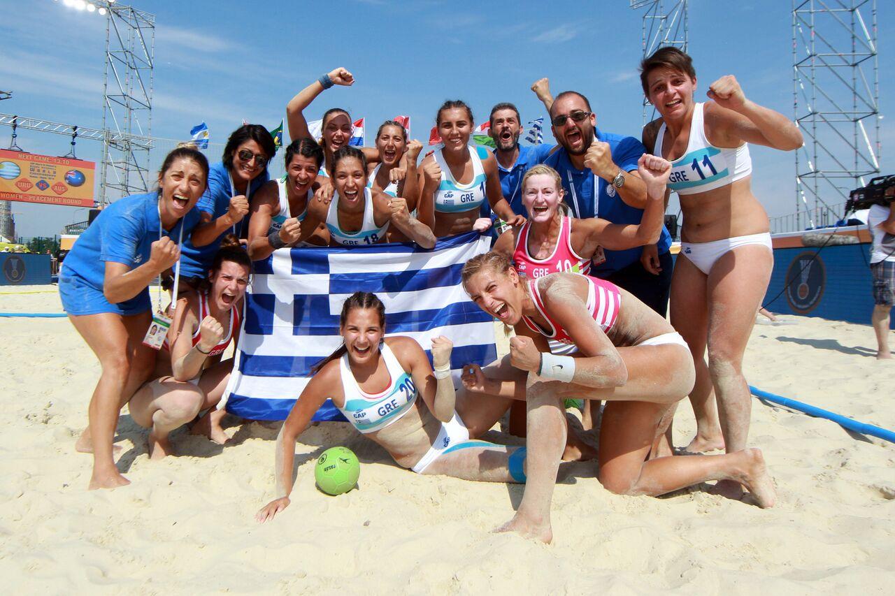7501fd75305 Το μπιτς χάντμπολ θα μπει στο πρόγραμμα των Ολυμπιακών Αγώνων και η Ελλάδα  δείχνει τα διαπιστευτήριά της. Αύριο, στο Καζάν η εθνική ομάδα των  γυναικών, ...