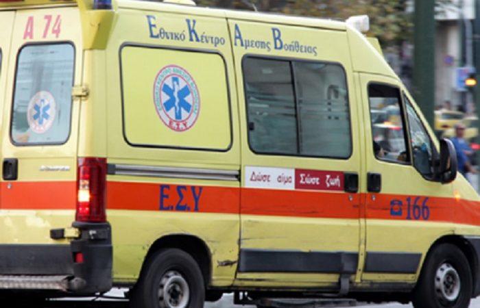 Λαμία: 33χρονη μητέρα έπεσε από τον τρίτο όροφο σε παρκαρισμένο αυτοκίνητο (pics)