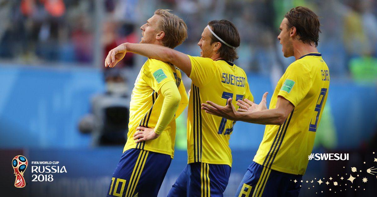 Στους «8» η Σουηδία με Φόρσμπεργκ (pics+vids)