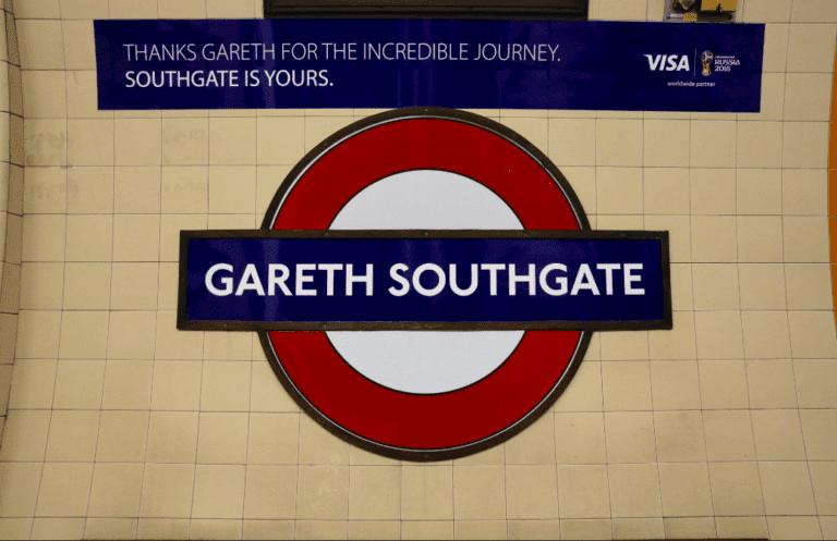 Μετονόμασαν σταθμό του μετρό σε Γκάρεθ Σάουθγκεϊτ (pic)