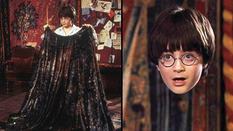 O αόρατος μανδύας του Χάρι Πότερ…γίνεται πραγματικότητα