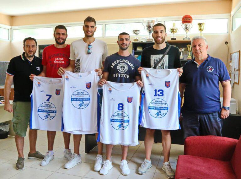 Ανακοίνωσε τέσσερις παίκτες η Καβάλα
