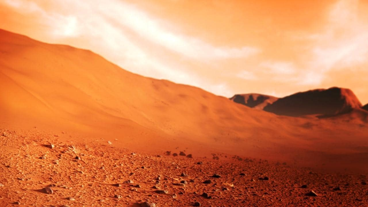 Ανακαλύφθηκε λίμνη με νερό στον Άρη