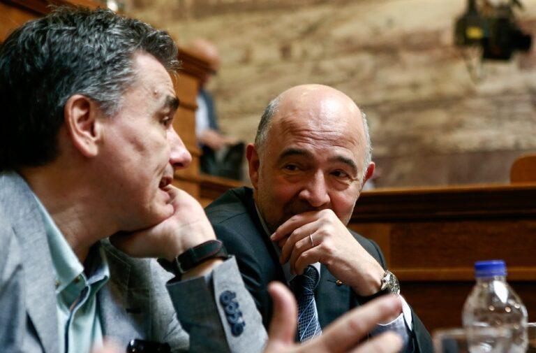Μοσκοβισί : «Η Ελλάδα επιστρέφει στην κανονικότητα»