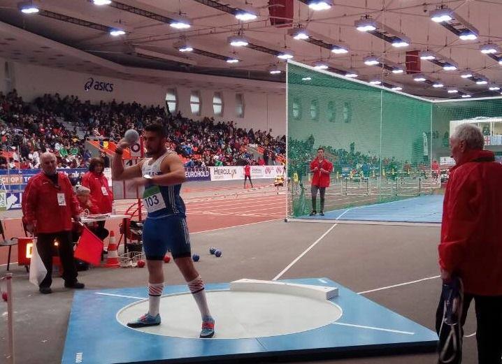 Παγκόσμιος Μουζενίδης, χάλκινο μετάλλιο με πανελλήνιο ρεκόρ