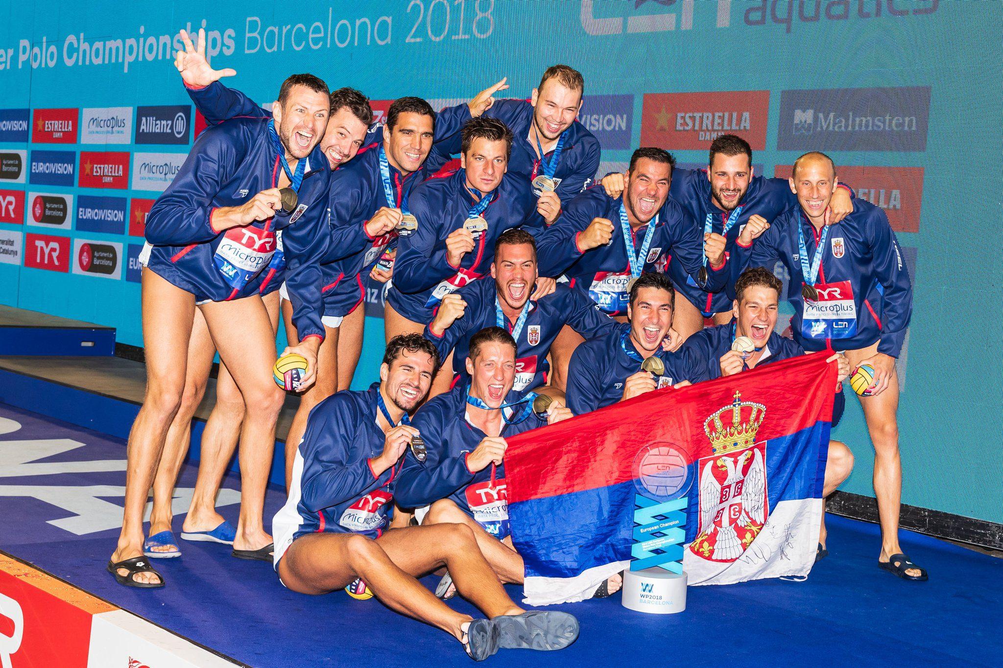Παρέμειναν στην κορυφή της Ευρώπης οι Σέρβοι (vds)