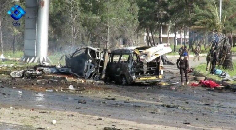Συρία: Τουλάχιστον 38 νεκροί από επίθεση αυτοκτονίας